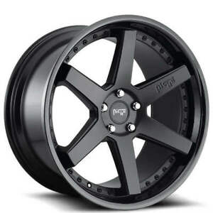 4rims 18 Staggered Niche M192 Altair Matte Black Wheels And Tires