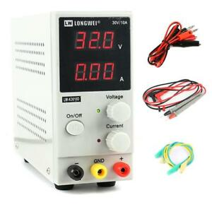 Adjustable Digital Dc Power Supply Variable Linear Lab Dc Bench Power Supply 30v