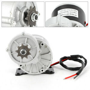 Electric Vehicle Geared Motor 24v 350w 3000 Rpm 18 4a Model My1016z 2 Poles Usa
