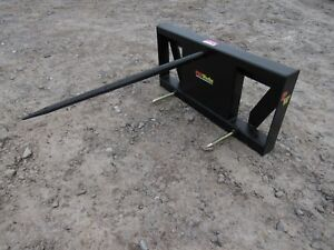 Global Quicke Euro Loader Attachment Low Back Round Hay Bale Spear Ship 149