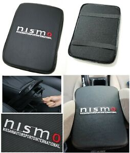 Universal Nismo Carbon Fiber Car Center Console Armrest Cushion Mat Pad Cover