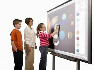 Home School Technology Smart Board With Projector And Mount