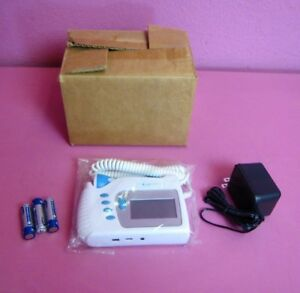 New Sonolife Fetal Doppler Portable Pocket Size Ultrasound Obgyn