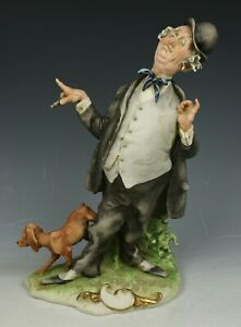 Capodimonte Guiseppe Cappe Figurine The Braggart Mint Worldwide