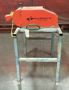 Sweed Metal Scrap Chopper 450af Wm W Stand Metal Band Strap Recycling