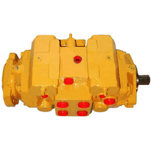 307 3064 Reman Hydraulic Tandem Drive Pump For Caterpillar Loader Models