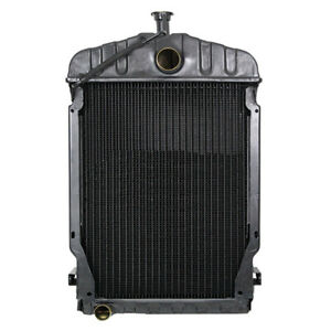 Radiator 26 5 Tall For International Tractor 504 377090r92 Gas