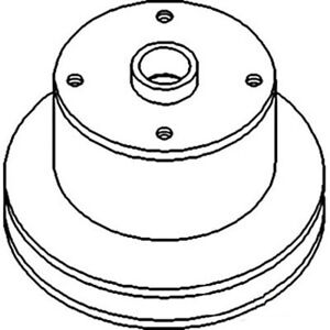 R70442 Water Pump Pulley Fits John Deere 1640 1840 2040 2140 2350 2550 2750