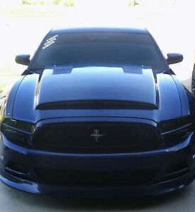 Fiberglass Hood For 2013 2014 Ford Mustang10 14 Shelby Gt500 Sse Style