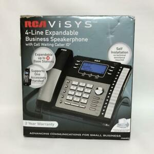Rca 25424re1 Visys 4 line Business Phone Cid Speaker Intercom Conference