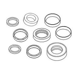 Hydraulic Lift Arm Cylinder Seal Kit For Ford New Holland Loader 701 702 703 712
