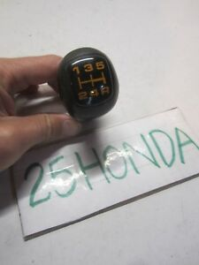 1986 1987 Honda Prelude Si 5 Speed Shift Knob Oem Jdm Ba1 Ba2 Rare Factory