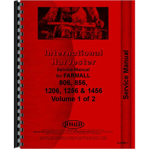 New Farmall 806 Tractor Service Manual