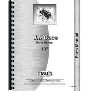 New Case 107 Tractor Parts Manual