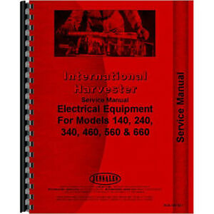 New International Harvester 560 Tractor Electrical Service Manual