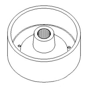 Brake Drum Sba328510081 For Ford New Holland Tractor 1300 1310 1500 1510 1710