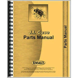 Parts Manual For Case D Tractor sn To 4511449