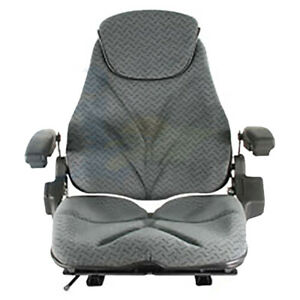 Gray Cloth Seat For Kubota Cub Cadet Tractor Lawn Loader Forklift