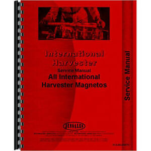 New International Harvester H4 Tractor Service Manual