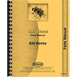 New Case 630 Tractor Parts Manual