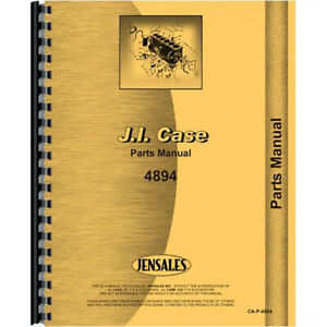 New Case 4894 Tractor Parts Manual