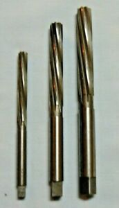 5 16 7 16 And 1 2 Hss Hand Reamers Spiral Flute