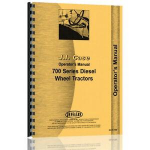 Operator Manual For Caterpillar 701 Tractor diesel row Crop