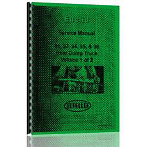 Service Manual For Euclid 94 Fd Rear Dump Truck Chassis Only