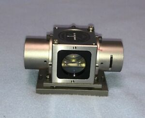 Hp 10706b Plane Mirror Interferometer Laser Hewlett Packard Optics Swivel Base