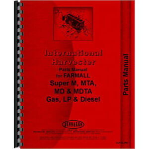 New International Harvester Md Tractor Parts Manual