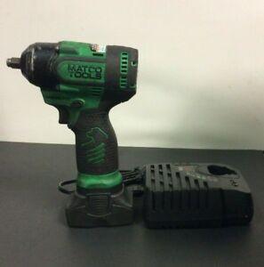 Matco Tools Infinium Mcl1638hpiw 3 8 Drive 16v Impact Wrench W Battery Green
