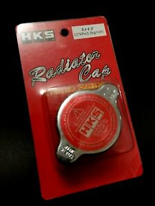 Jdm Hks D1 Racing Radiator Cap S Type Red For Nissan Subaru Mitsubishi Mazda