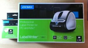 Dymo Labelwriter 450 With White Address Labels 30252 Both New