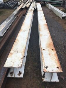 Steel I Beam 12in X12in X38 Ft X2 I Beams