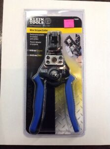 Klein Tools 11063w Katapult Solid And Stranded Wire Stripper cutter 8 22 Awg