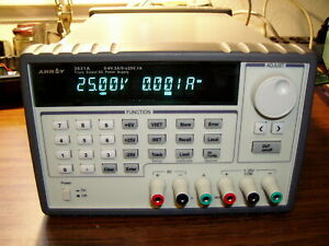 Array 3631a Programmable Triple Output Lab Bench Power Supply
