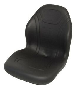 Black Seat For John Deere Skid Steer 240 250 260 280 313 315 317 320 325 328 332