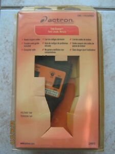 Actron Cp9015 Engine Trouble Code Reader Book Ford Lincoln Mercury