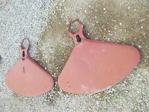 Farmall Sc 200 230 Tractor Straight Original Ih Fenders W Mounting Axle U Bolts
