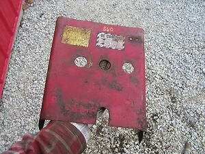 Farmall 560 460 Tractor Original Ih Ihc 3 Hydraulic Valve Cover Panel