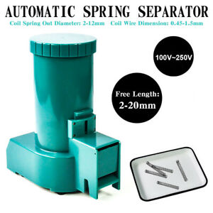 110v Automatic Spring Separator Small Spring Separating Machine 2 12mm Out Dia