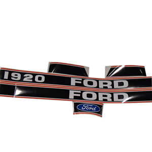 Ford Tractor 1920 Decal Set Stickers With Caution Labels 1115 1570