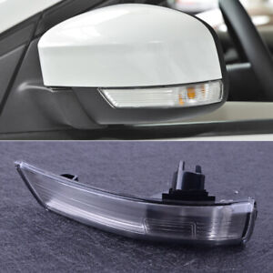 Fit Ford Focus 08 16 Left Wing Mirror Turn Signal Light Lens Cover 8m5113b382aa