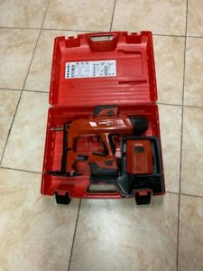 Hilti Bx 3 Battery actuated Fastening Tool Kit Case W 2 Batteries Charger Bx3