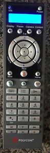 Polycom Hdx Remote Control In Very Good Condition With 100 Pixels
