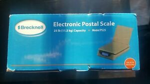 25lb Limit Brecknell Electronic Postal Scale Ps25 Usb Port Lb kg Model Ps25