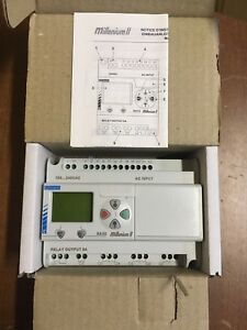 Crouzet Sa20 Millenium Ii Control Plc Controller New In Box With Manual