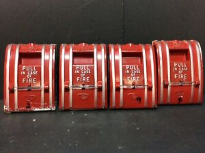 4 Edwards 270 dpo Fire Alarm Manual Stations Lot