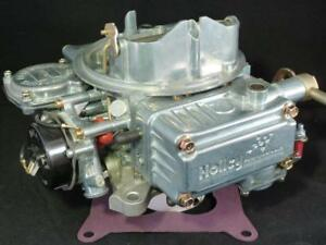 Holley 80457 Carburetor 600 C f m W Electric Choke Reman W 1yr Warranty