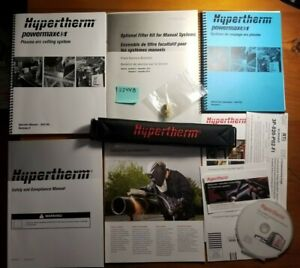 Hypertherm Powermax 45 Plasma Arc Cutting System Owner Operator Manual 805780 13